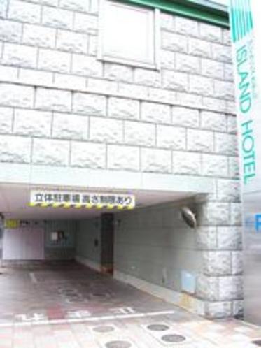 【駐車場】入口