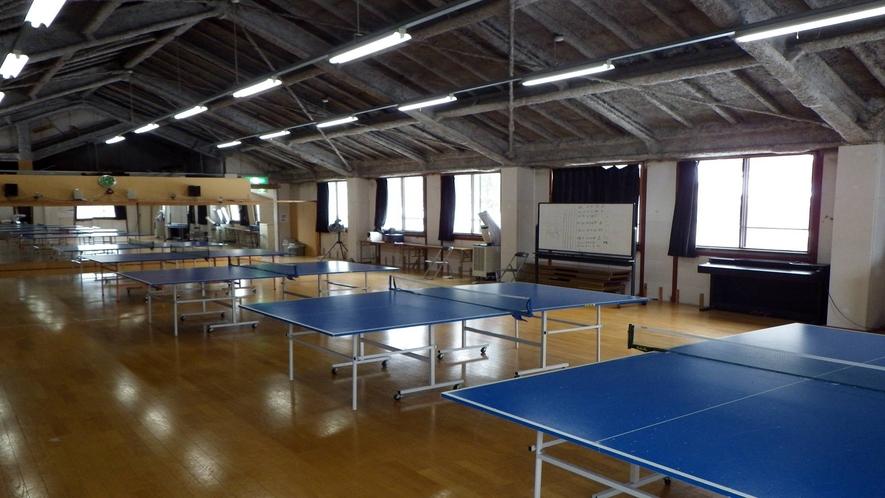 *【卓球場】広々とした卓球場がございます!