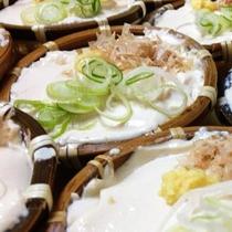 *食事一例/当館名物のお豆腐★濃厚で美味しいですよ!