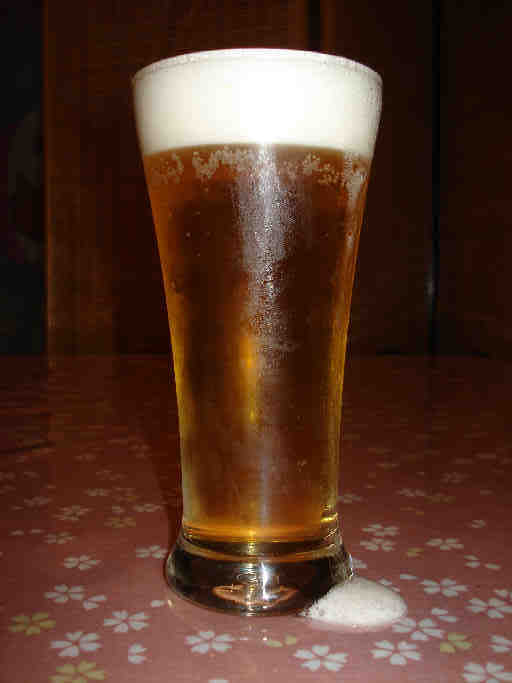 生ビール(温泉の後の生ビールは最高!1杯350円〜)