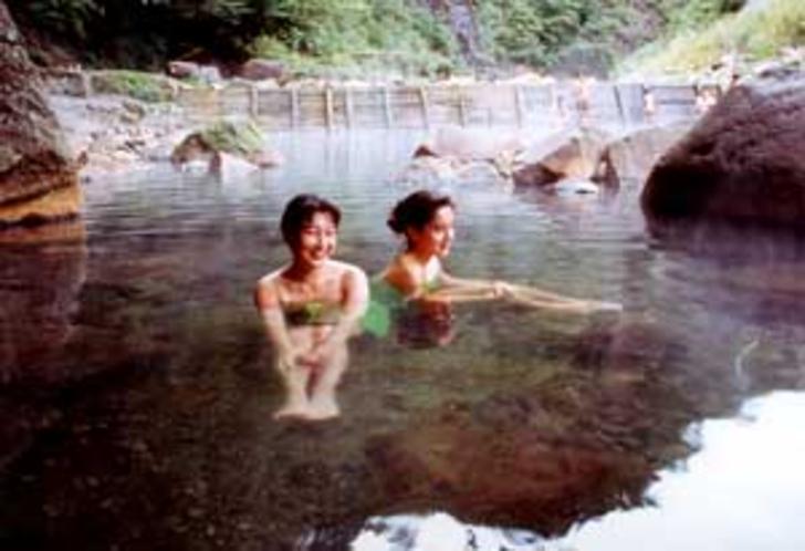 尻焼温泉露天風呂