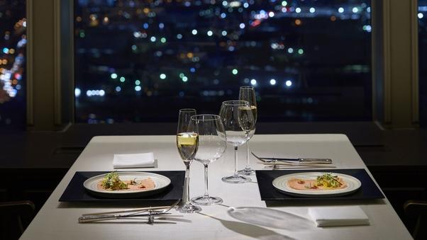 【夕食:シャンボール】14〜23階 スーペリアフロアツイン