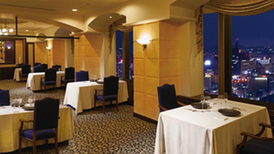 【シャンボール】北九州の夜景を一望できるフレンチレストラン