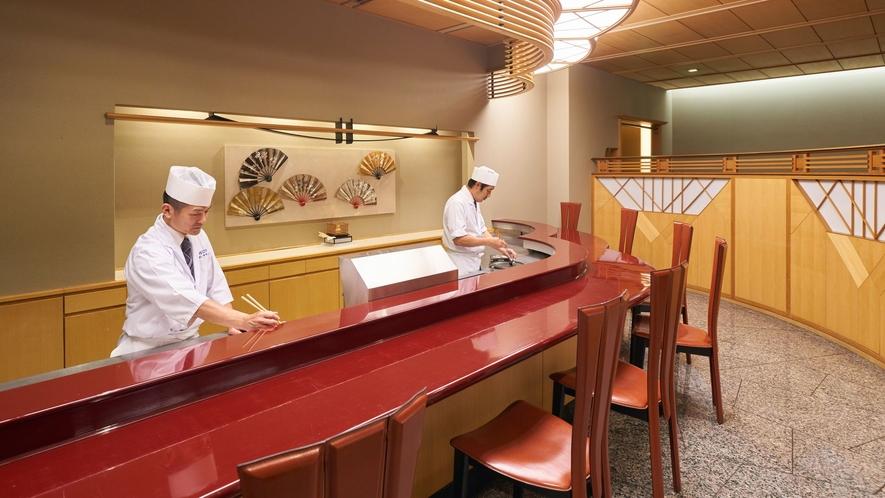 【皿倉】天ぷらカウンター