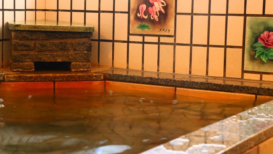 24時間入浴可能なお風呂。心身温まって、日常の疲れを癒やして下さい。