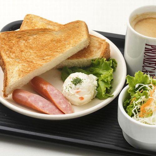 ≪カフェ無料モーニング≫AM6:30〜AM10:00