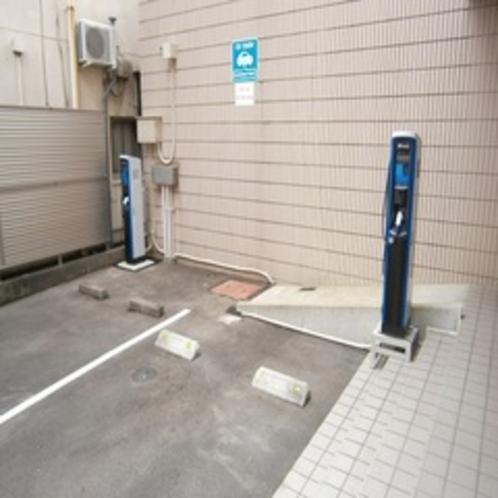 ◆電気自動車スタンド