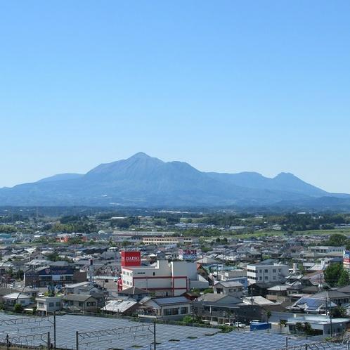 ◆客室からの霧島連山