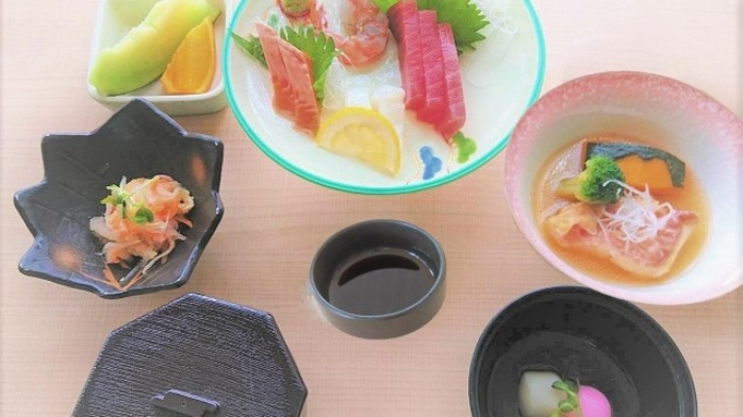 【 魚膳 】旬の魚を使った「お造り・煮つけ」をご提供。いちき串木野市だからできる新鮮な海の幸。