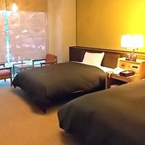 【プレミアムツイン】最大の特徴はお部屋の広さと眺望!リニューアルしたばかりの綺麗なお部屋です