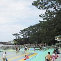 長崎鼻公園プール(スライダー)