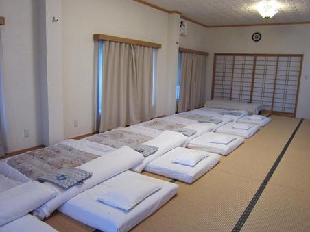 25畳和室 宿泊専用のゆったりした広間