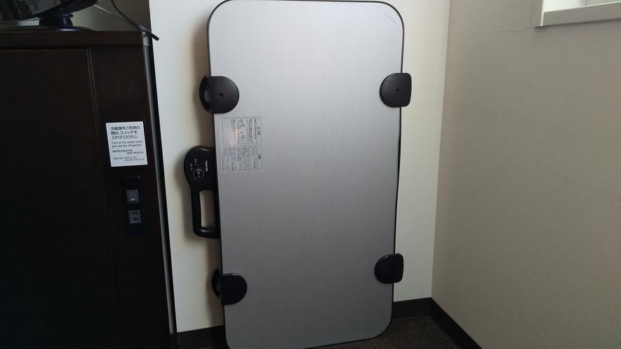 客室 コンフォートフロアにはズボンプレッサーが備えてあります