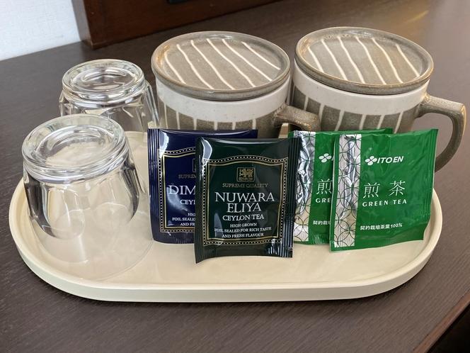 客室 お茶セット