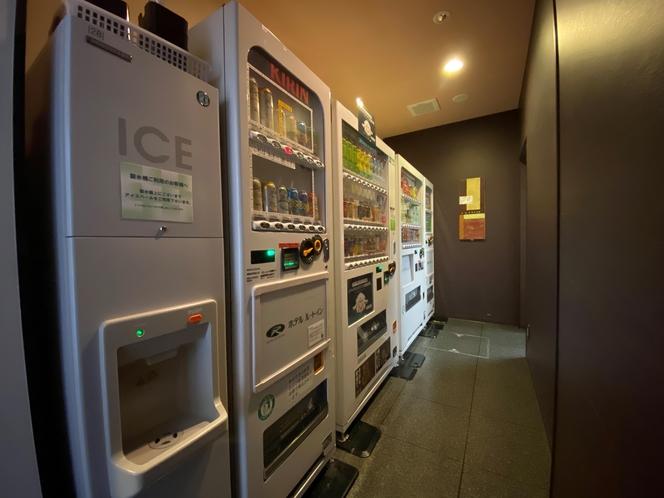 製氷機と各種自動販売機