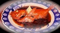 下田名物 姿金目鯛の煮付