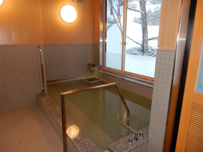 湯恵山荘浴室