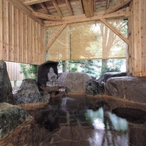 大浴場-岩露天
