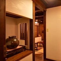 *壱の蔵/上下に和室があるので、メゾネットタイプの広々としたお部屋です。
