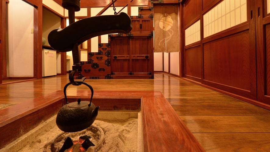 *弐の蔵/古き良き時代の日本を思い起こさせるお部屋です。