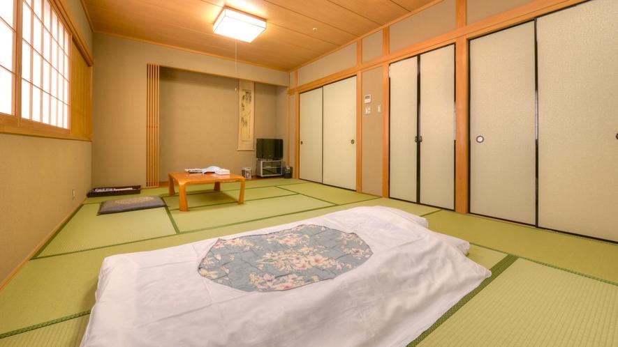 *おまかせ和室(客室一例)/畳の香りがほのかに薫るお部屋でのんびりとお寛い下さい。