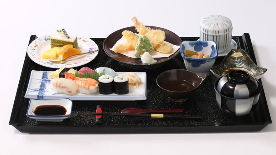 *天ぷら・お寿司御膳