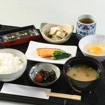 【選べる朝食一例】和食
