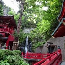 観光地:中野不動尊 日本三大不動尊の一角。由緒ある厄除けスポットとしても有名です。
