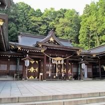 観光地:福島縣護國神社 明治天皇の思し召しにより創建。皇室より数々のご参拝を賜る神社です。