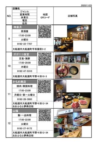 【宿泊プラン】《お食事券付きプラン》ご利用店舗例3