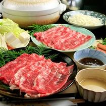 『上州牛しゃぶしゃぶ』お肉2皿