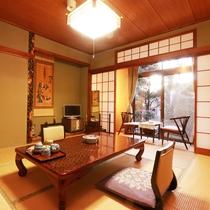ゆったりと落ち着いた昔ながらの和室です。