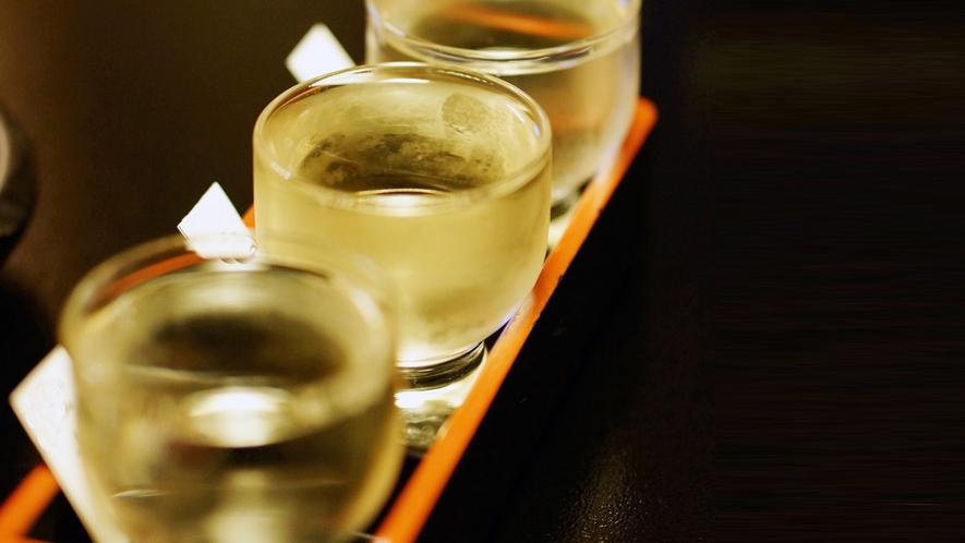 ◆山梨の美味しい地酒を3種飲み比べ!お気に召したお酒は現地でご購入頂けます!