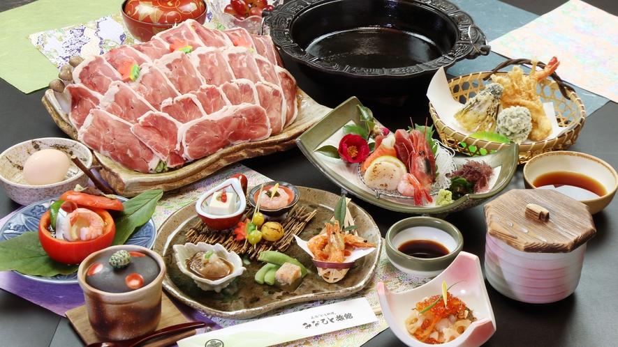 ◆人気No.1 スタンダードコース◆鴨すき焼き or  鴨みそ鍋 チョイス♪