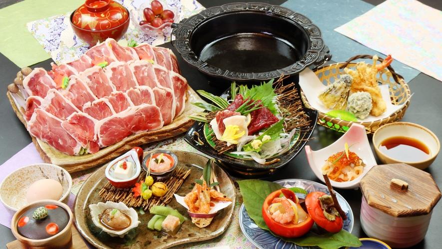 ◆鴨鍋×馬刺しのコース◆馬刺しは栄養価が高く低カロリーで美容や健康にも最適な食材です。