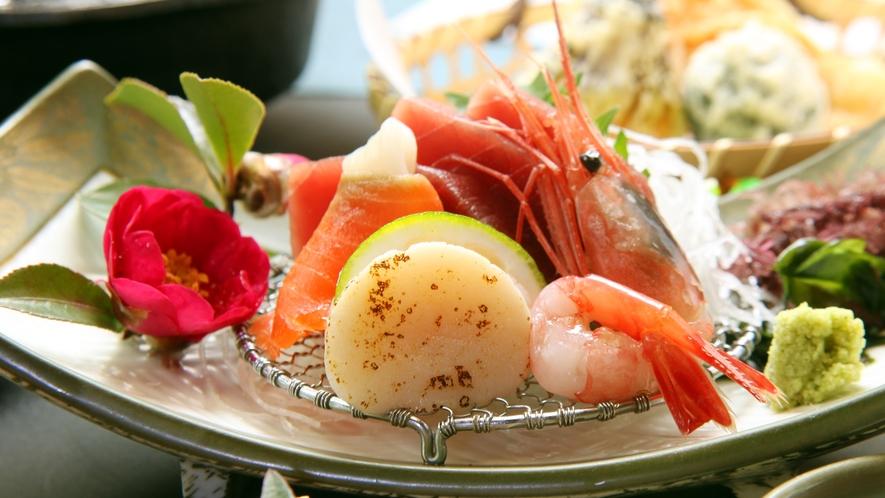 ◆前菜一例 その時々の旬をご提供いたします