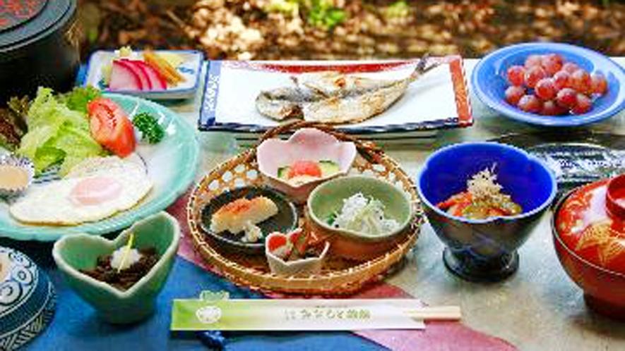 ◆彩り鮮やかな和朝食をご用意致します♪