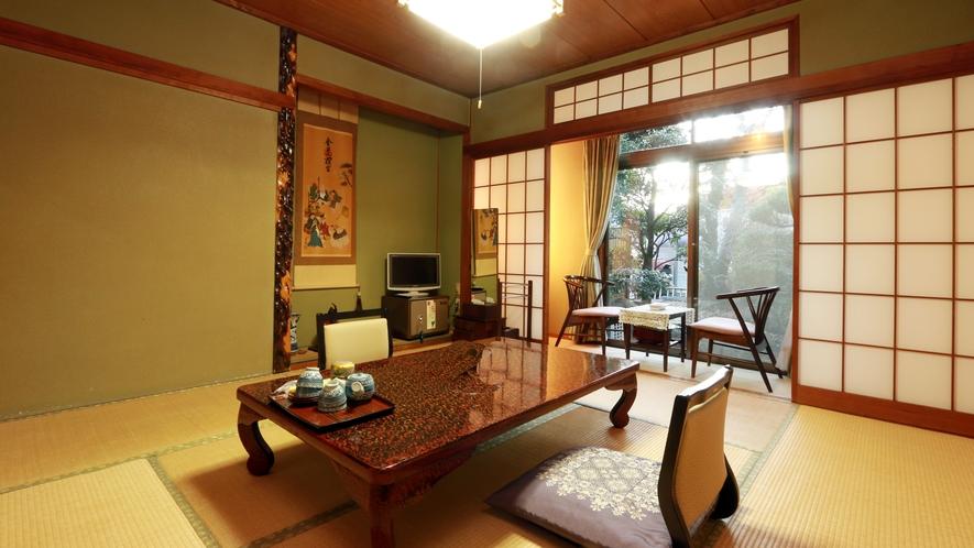 ◆お部屋は全室和室になります。静かで落ち着いた和の雰囲気の中で、ゆったりとお寛ぎ下さい。