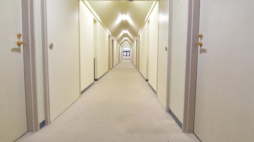 *客室前廊下
