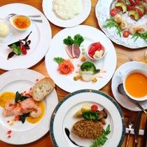 【夕食】和のテイストを添えた創作フルコース9品♪