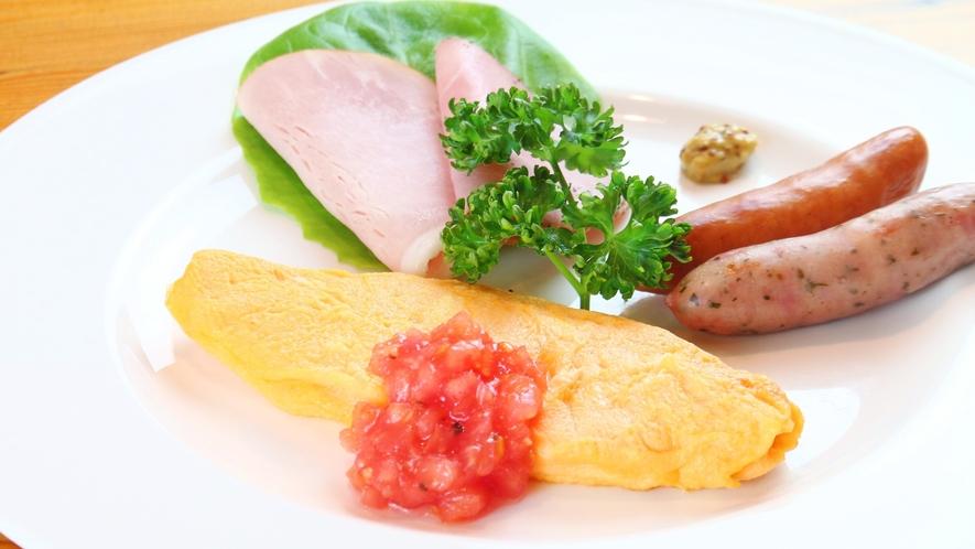 【朝食】27センチプレート皿の盛り合わせオードブル