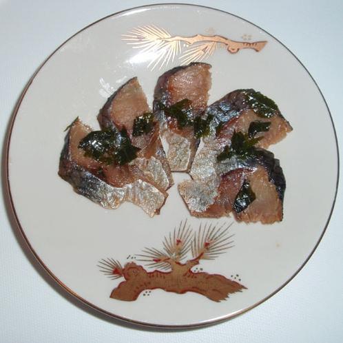 *【夕食一例】ニシン山椒漬
