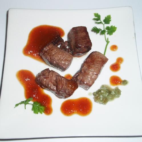 *【夕食一例】和牛ステーキ