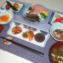 *【朝食全体例】 郷土料理プラン