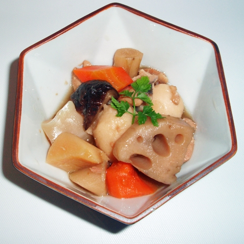 *【夕食一例】筑前煮