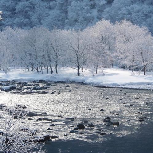 *【風景(冬)】幻想的な景色を見られるかもしれません♪