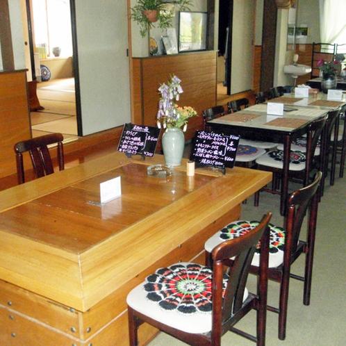 *【施設/食事処】テーブル席