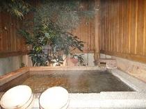右湯天然温泉露天風呂