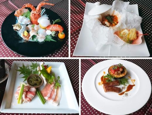 【夏旅セール】【香川美食】讃岐三畜の食べ比べと伊勢海老が味わえる美食プラン♪