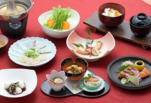 和食ランチ(一例です)